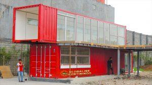Dijual Large Studio/workshop Container (kontainer/kontener studio/workshop). Produk Container (kontainer/kontener) modifikasi kami ini sudah sukses terinstall di Bandung.