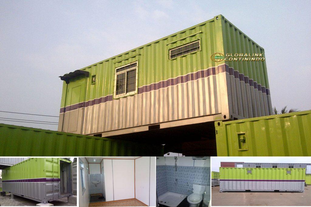 Office Container with toilette (kontainer/kontener kantor dengan toilet)