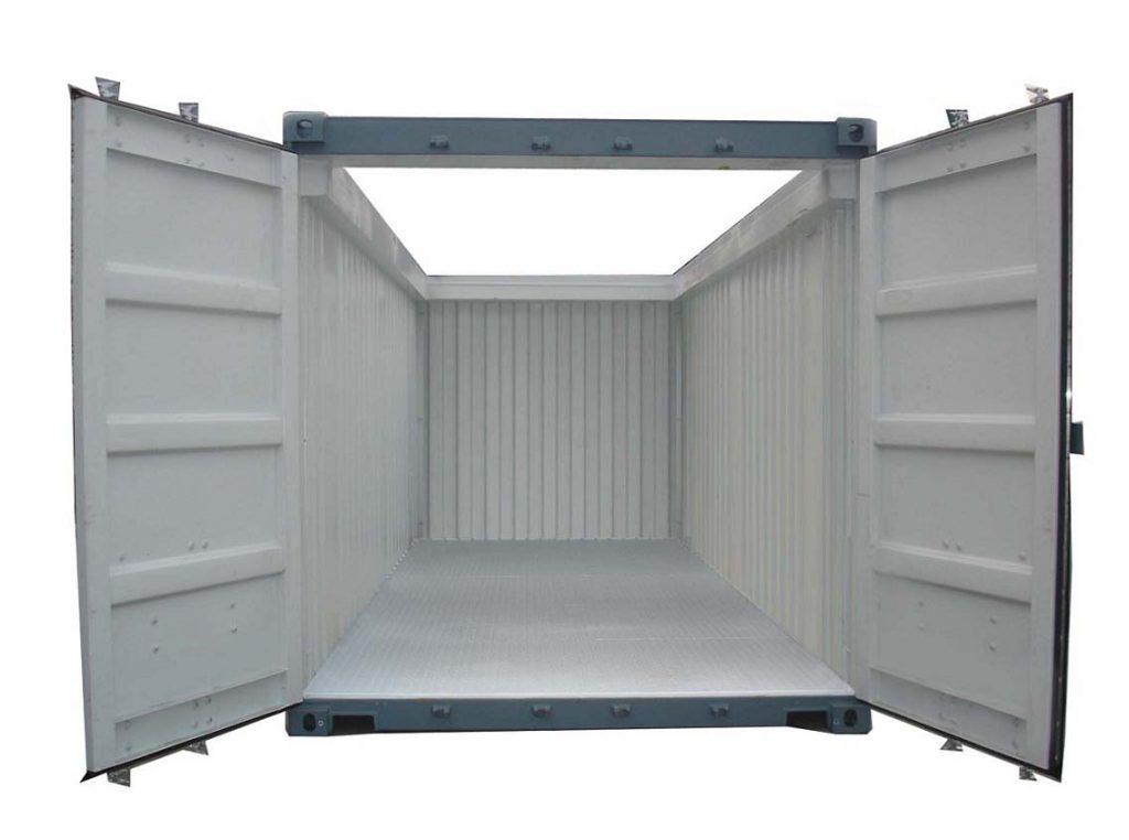 Dijual 20feet Open Top/Roof Container (kontainer/kontener dengan atap/atas terbuka).