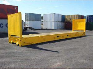 Dijual Flat Container Rack (rak kontainer/kontener datar).