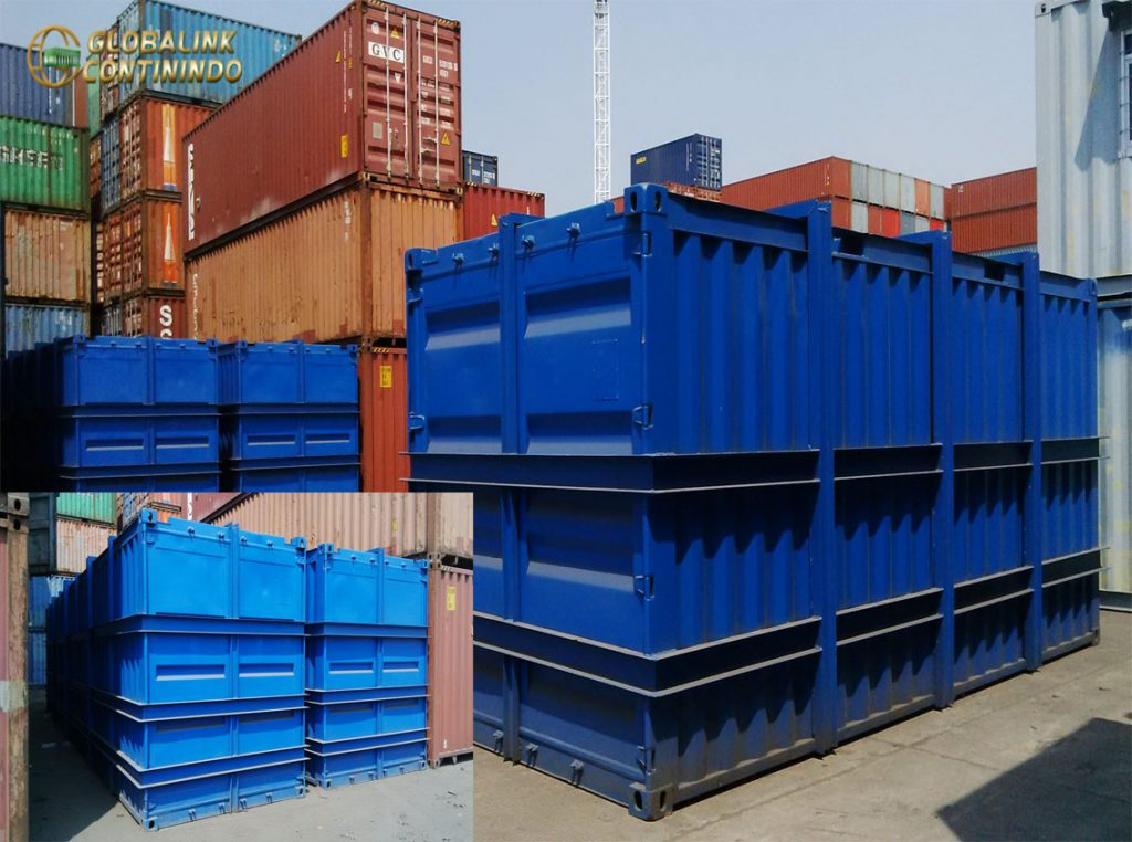 Water Tank Container (kontainer/kontener), 20 FT (feet/kaki).