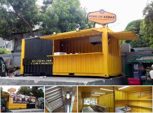 20feet Cafe/Canteen Container (kontainer/kontener kafe/kantin).