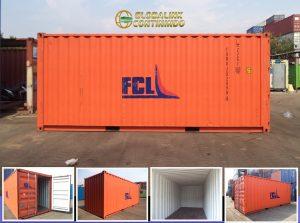 20 feet Empty Container (kontainer/kontener kosong).