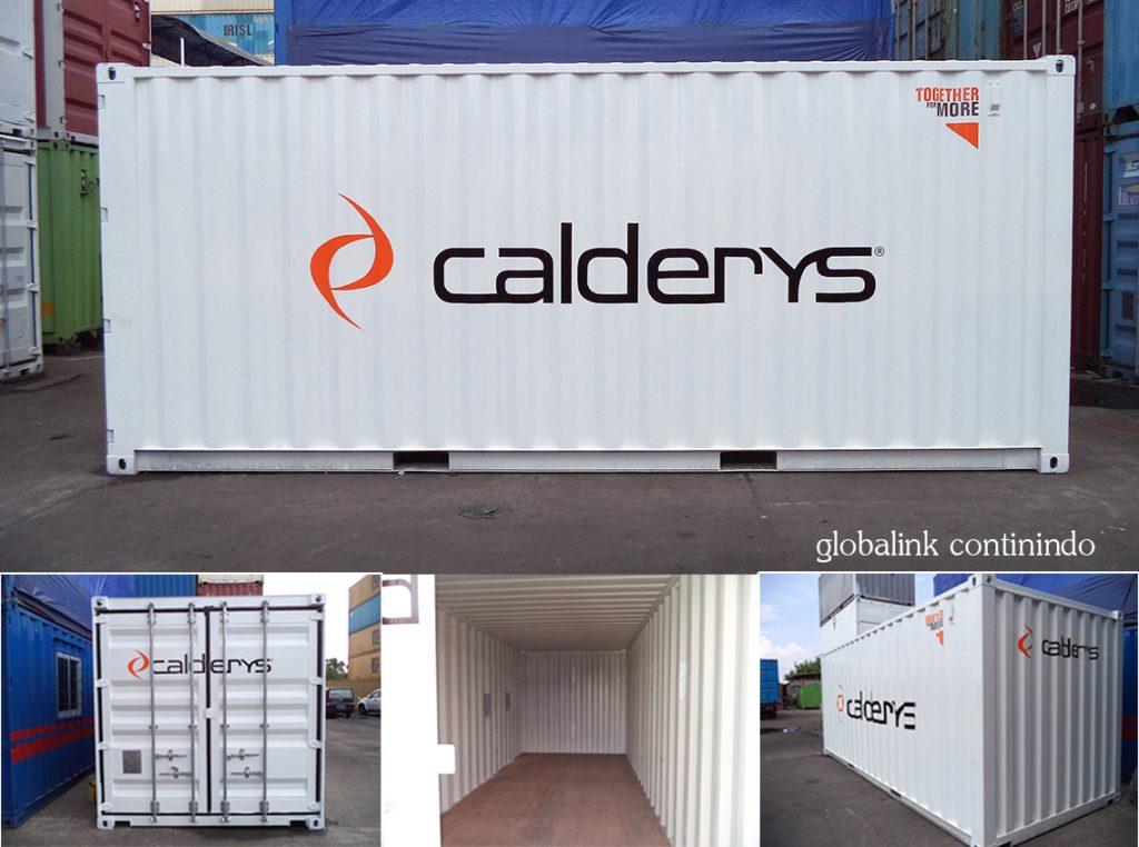 20feet Container (kontainer/kontener) kosong.