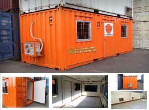 Office Container (kontainer/kontener kantor).