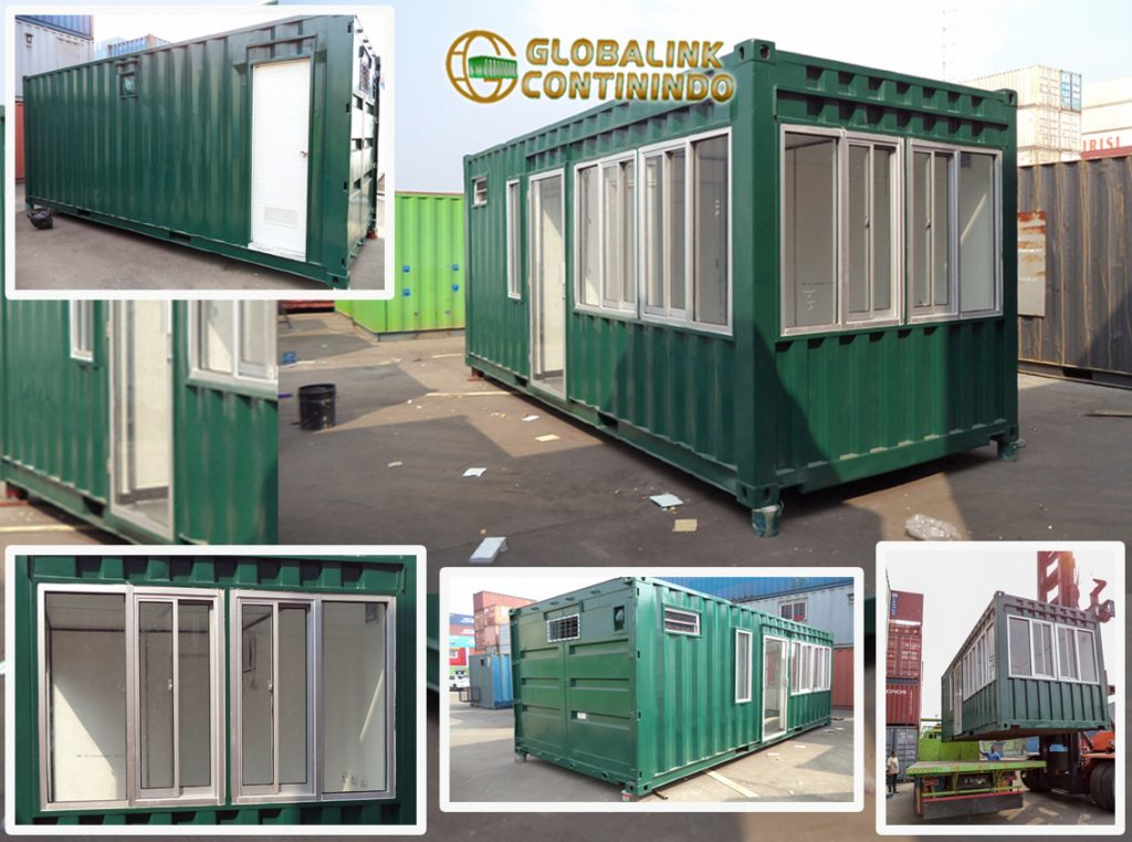 Dijual Security Container (kontener/kontainer satuan-pengaman).