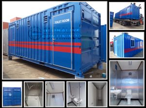 Container Toilet room for sold