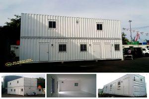 Dijual Office Container (kontainer/kontener kantor).