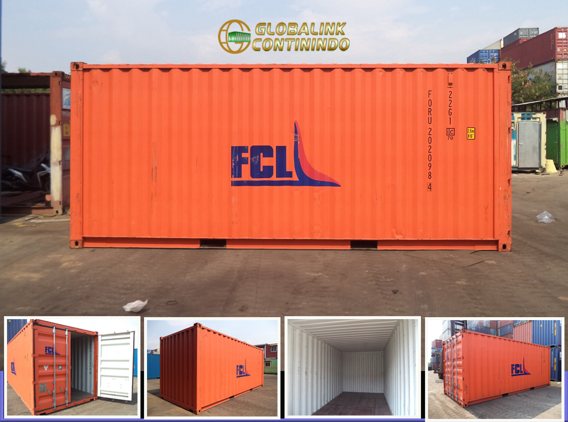 Container Second 20 FT - Jakarta