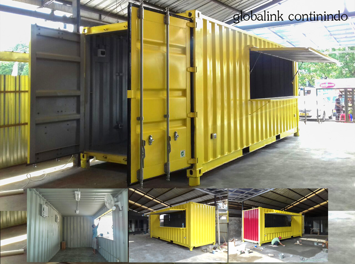 Container Modifikasi (Cafe) 20 FT
