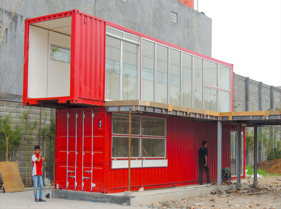 Studio Container 40 FT - Bandung