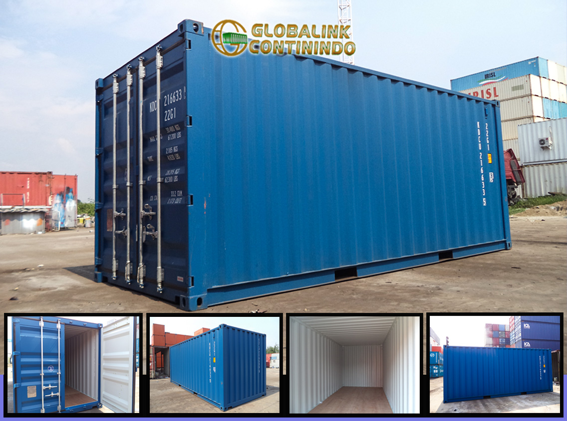Container Dry/Kosong 20 FT Brand New - Jakarta