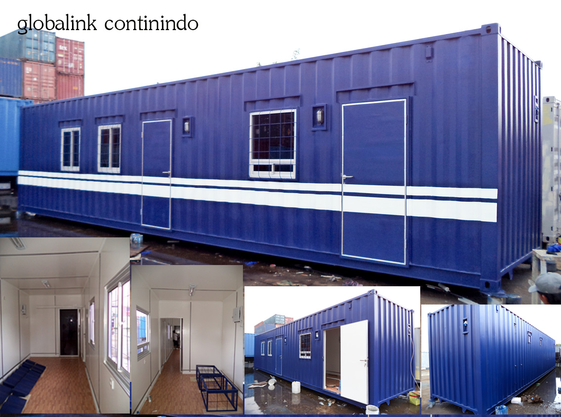 Modifikasi Container Standart, Office 40 FT  HC - Jakarta