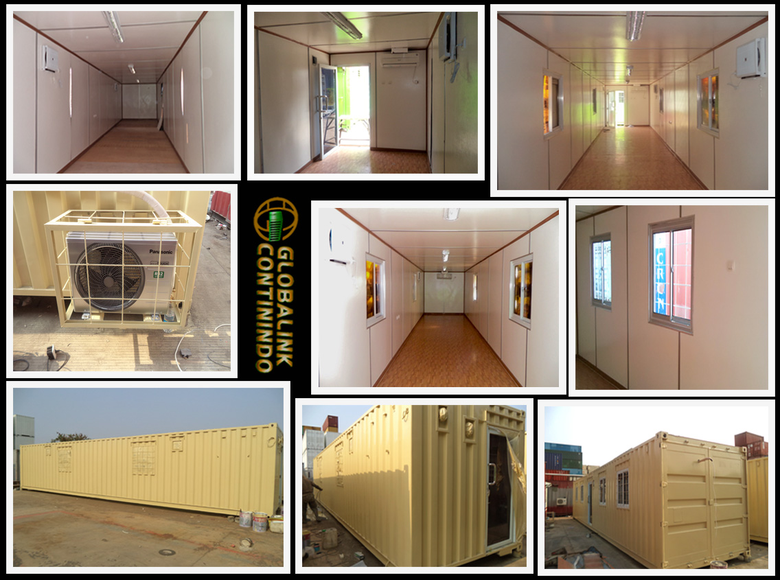 Office Container 40 FT - Jakarta