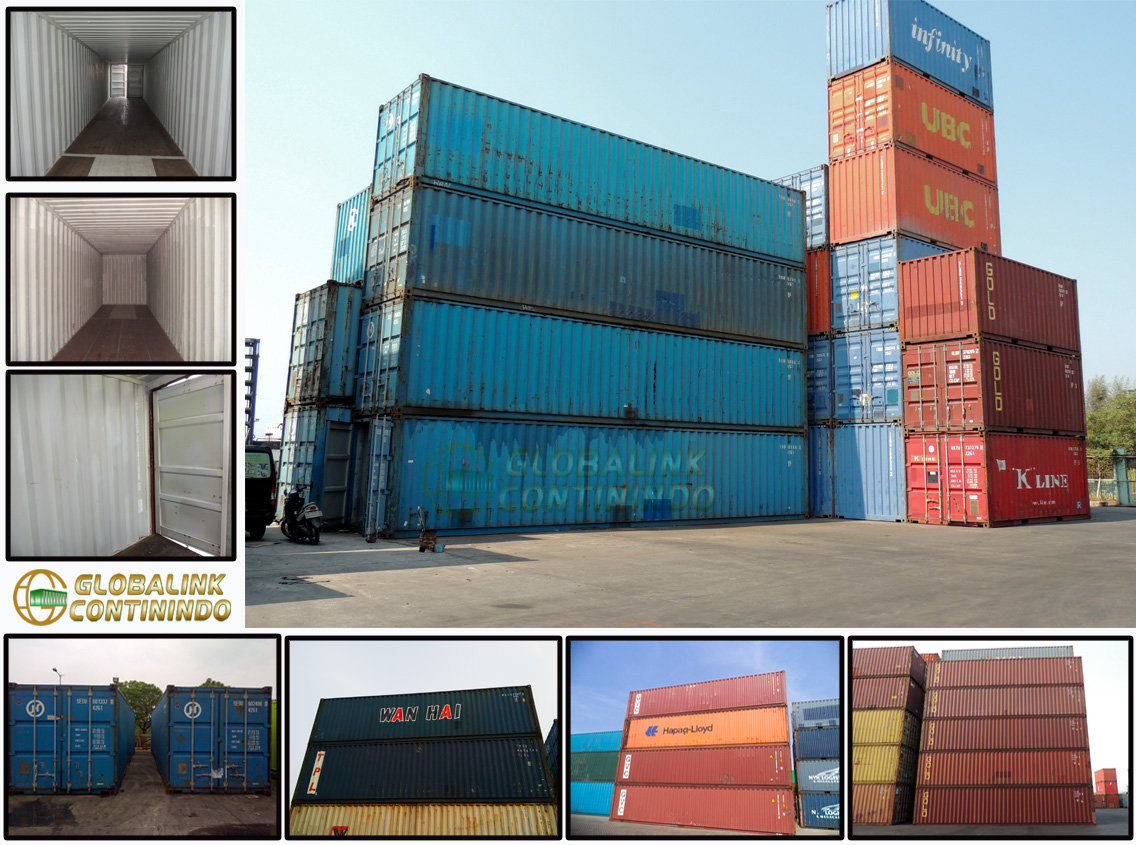 Container Second 40 FT - Jakarta