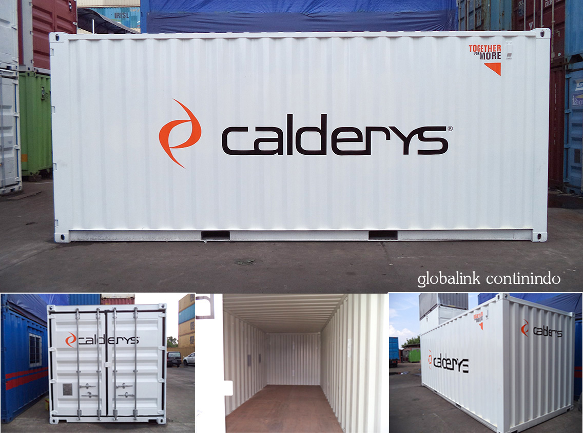 Container Dry Brand New 20 FT - Jakarta